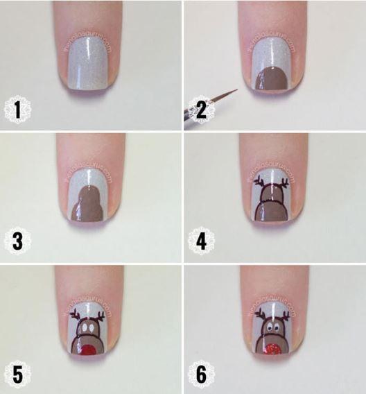 tarandos nail art tutorial