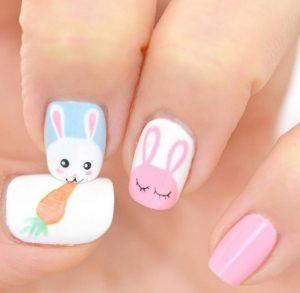 απαλα χρωματα νυχια για το Πασχα