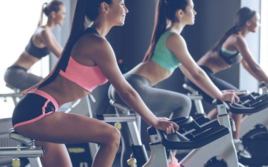 spinning class, ποδηλασία