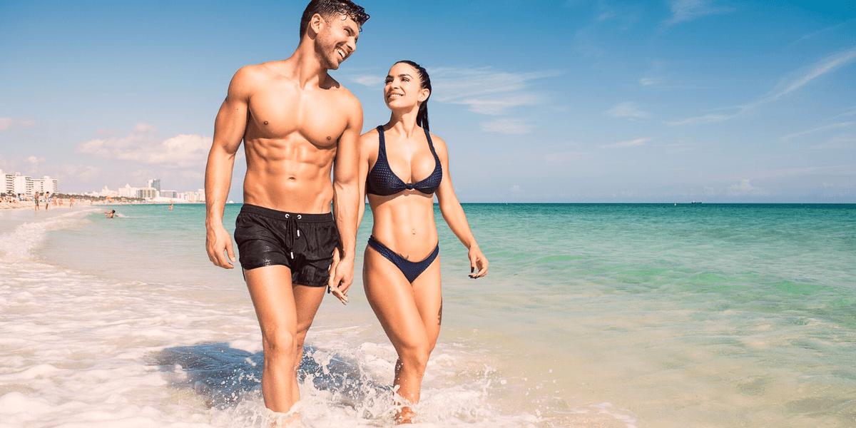 Αποτέλεσμα εικόνας για fit couple sea